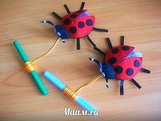 Игрушки своими руками для детского сад